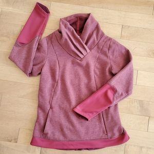 Quechua purple fleece sweater